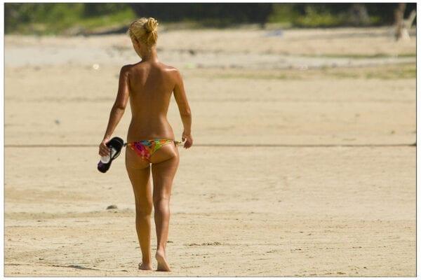 Suntan - use Herbazone Sunscreen