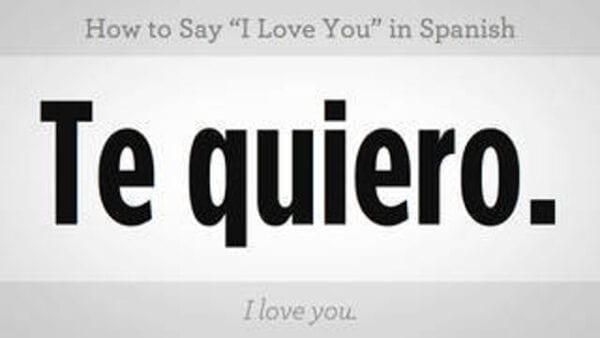 spanish valentine