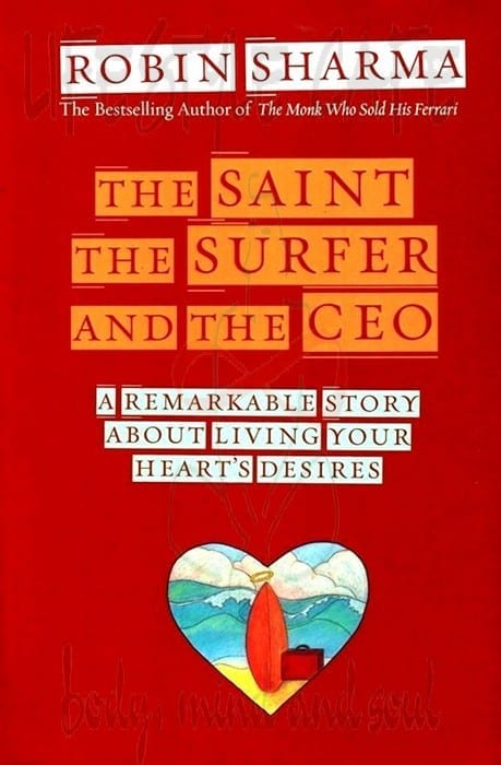 book review the ceo and the He sends jack on a journey around the world to meet three teachers (the saint, surfer and ceo), who guide him through a spiritual transformation and help him answer the three questions.