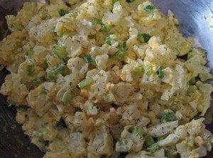 Cauliflower salad - thelifestylecafe