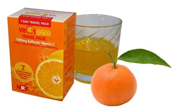 Vitamin C travel pack