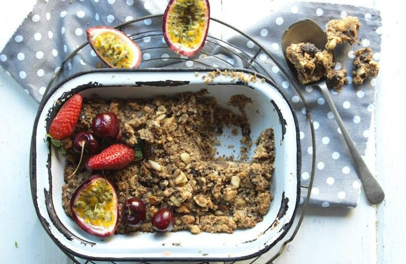 Low-Carb Almond Crumble