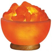 Himalayan Fire Bowl Salt Lamp