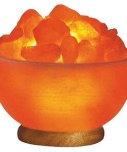 Himalayan Fire Bowl Salt Lamp