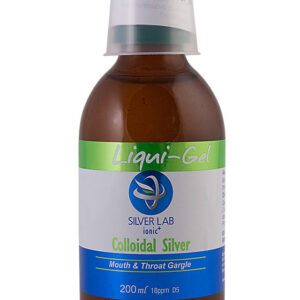 Silverlab Colloidal Silver Liqui-Gel - Mouth & Throat Gargle