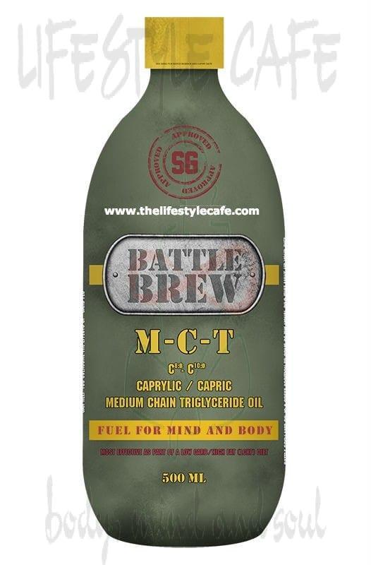 BATTLE BREW M-C-T Oil