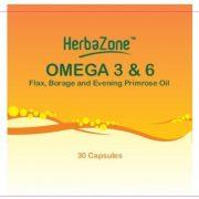 HerbaZone Omega 3 and 6