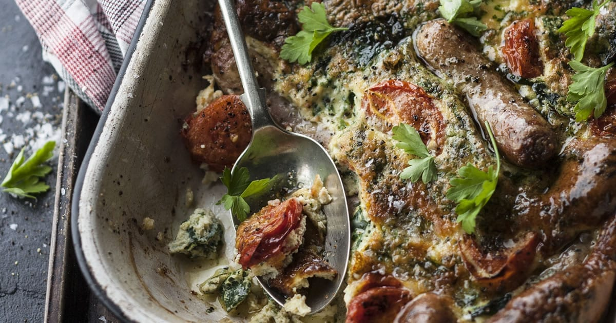 Toad in the Hole Breakfast for Banters | The Lifestyle Cafe
