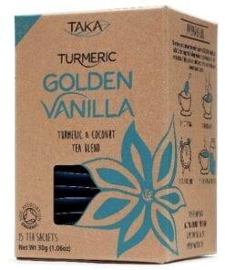 Taka Turmeric Golden Vanilla Tea Bags