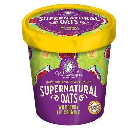 Wazoogles Supernatural Oats Pot- Wild Berry Fig Crumble