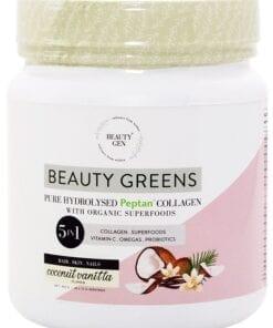 Beauty Gen Coconut Vanilla 5-in-1 Supplement - Tub