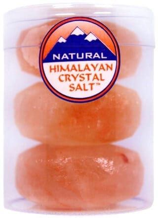 Himalayan Crystal Salt Round Massage Stones