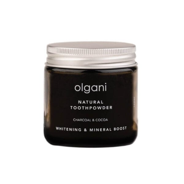 Olgani Toothpaste Powder - Charcoal & Cocoa Olgani